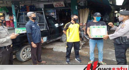 HUT Bhayangkara ke-74, Polres Mempawah Gelar Bansos