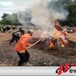 7 Zona Rawan Karhutla, Polres OKI Bentuk Pasukan Drone
