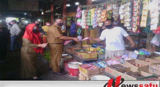 Covid-19, Disperindag Ogan Komering Ilir Ingatkan Pedagang Dan Pembeli Di Pasar