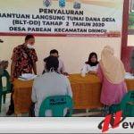 Desa Pabean Probolinggo Tahap 2 BLT Di Bagikan Ikuti Protokol Kesehatan