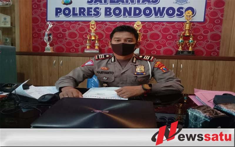 Kasatlantas Polres Bondowoso AKP Haryanto