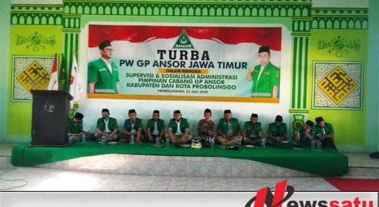 Ketua GP Ansor Jatim, Turba Ke Kader Ansor Probolinggo