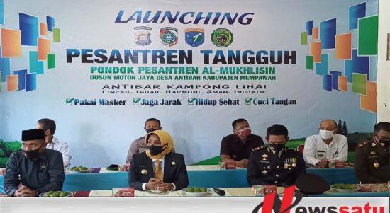 Launching Ponpes Tangguh, Bupati Mempawah Himbau Agar Patuhi Protokol Kesehatan
