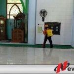 Sambut Idul Adha, Satgas Ponpes Dengan Gerakan Desinfektan
