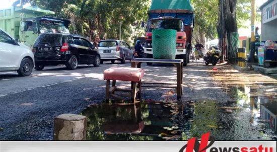 Warga Kota Probolinggo Keluhkan Kebocoran Pipa PDAM