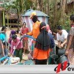 BPBD Bondowoso Droping Air Bersih Di 5 Kecamatan