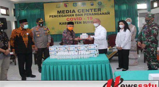 Ketua Banggar DPR RI Beri Bantuan Rp 540 Juta Ke Gugas Covid-19 Sumenep