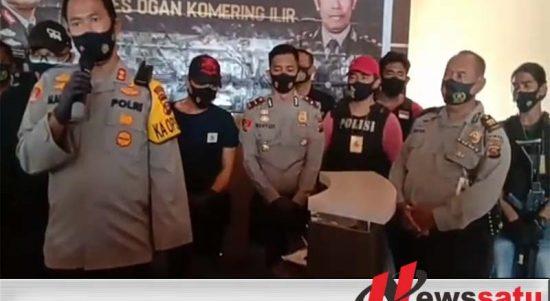 Polres OKI OTT Oknum Ormas Dikantor Inspektorat