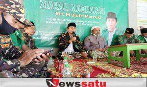 Ansor Teladani Perjuangan KH Djufri Marzuki