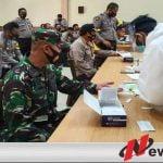 Apel Gabungan dan Rapid Test Pimpinan TNI- Polri Wilayah Pamekasan