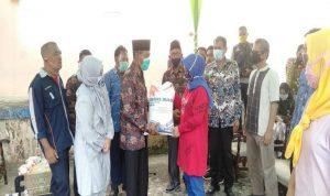 Pemkab OKI Launching Bansos Beras KPM PKH