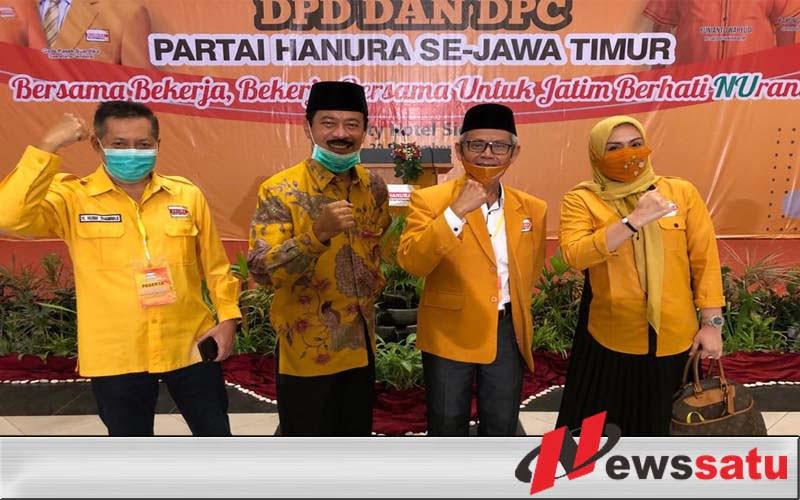 Jelang Pilkada, Nyai Eva Ketua DPC Hanura Sumenep Diganti