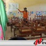 Pra KBM Tatap Muka, Sekolah Di Pamekasan Dilakukan Desinfeksi Massal