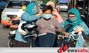 Satgas Kelurahan Pantau Disiplin Prokes KBM Tatap Muka di Pamekasan