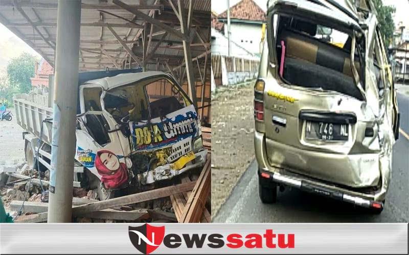 Balita Meninggal Dalam Laka Maut Panther Vs Dump Truck Di Pamekasan