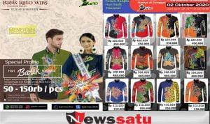 Hari Batik Nasional, Rato WMS Diskon Besar-besaran Dan Beri Palatihan Membatik
