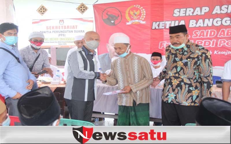 MH Said Abdullah Ketua Banggar DPR RI Ajak Warga Hidupkan Semangat Gotong Royong