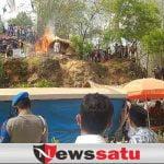 Satpol PP Pamekasan Tutup Wisata Bukit Bintang