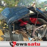 Sedan Vs Pick Up di Wisata Talang Siring Pamekasan