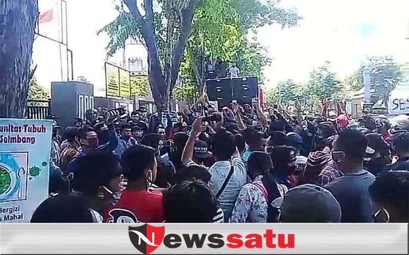 Wartawan Dan LSM Di Probolinggo Geruduk Kantor Kejaksaan Negeri
