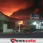 Warung Di Kota Probolinggo Terbakar