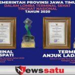 2 Terminal Sehat Di Jatim Raih Juara Dalam Penerapan Prokes Tingkat Nasional