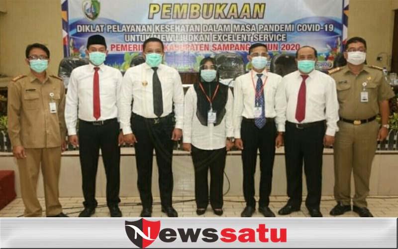 Bupati Sampang, Meski Pandemi, Layanan Kesehatan Harus Excellent