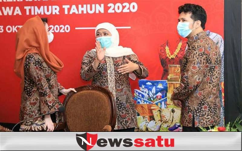 Gubernur Jatim Tetapkan UMP Tahun 2021