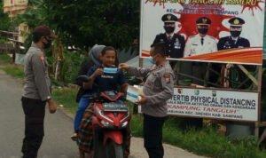Polisi Ketatkan KTS Dengan Disiplin Masker Di Sampang