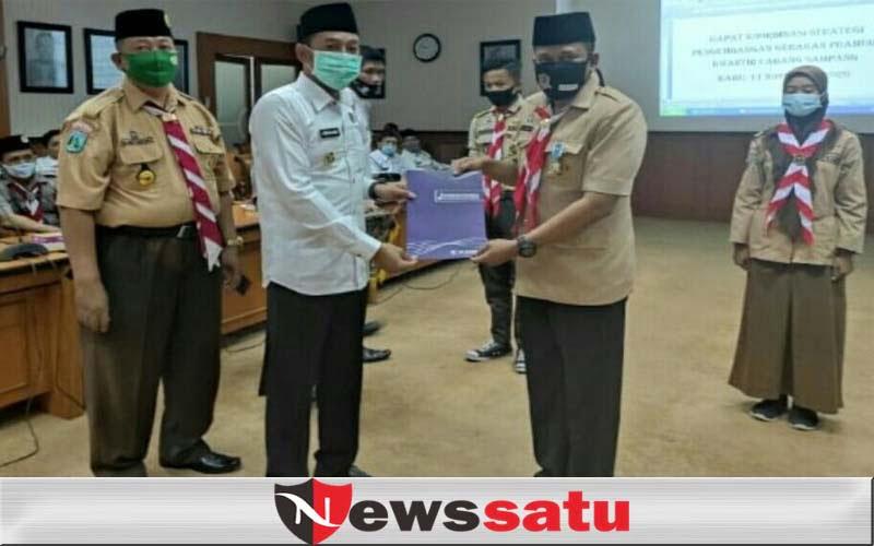 Kader Pramuka Berprestasi Dapat Beasiswa Dari Pemkab Sampang