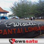Keindahan Cemara Udang Dan Pasir Putih Di Pantai Lombang Sumenep