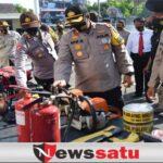 Polres Gelar Pasukan Antisipasi Bencana di Pamekasan