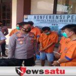 Polres Probolinggo Kota Tangkap 5 Bandit