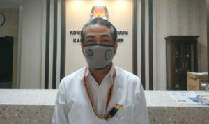 Sekretaris KPU Sumenep, Anwar Syahroni Yusuf