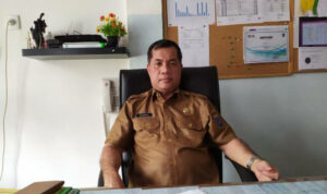Kepala DKPTPH Kabupaten Ogan Komering Ilir (OKI) Sumatra Selatan (Sumsel) Ir Sahrul Sodri