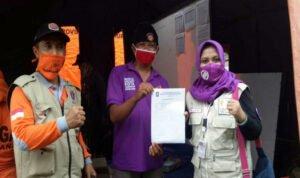 SRPB Jatim Bentuk Desk Relawan Untuk Pusdatin dan Organisir Partisipan di Bencana Semeru