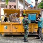 Sampang Mengering, TNI AD Mulai Bersihkan Fasilitas Umum