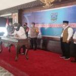 Bupati Probolinggo bersama Forkopimda Gelar Rapat Natal Dan Tahun Baru
