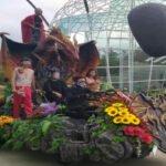Batu Love Garden Tampilkan Srikandi Flower Parade