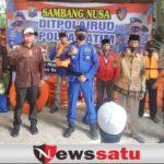 Ditpolairud Polda Jatim Peduli Nelayan Di Pulau Mandangin Sampang