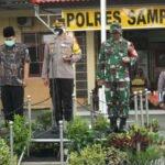 Sampang Mandali, TNI Polri Pantau Pergantian Tahun