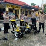 Peduli Pertanian Sampang, Kapolres Sampang Sumbang 2 Handtraktor