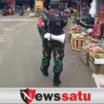 TNI Di Sampang Jaga Keamanan dan Disiplin Prokes