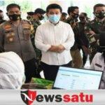 Gedung Grahadi Surabaya Jadi Pusat Pelaksanaan Vaksinasi Perdana Di Jatim