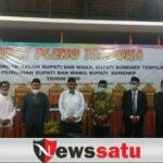 KPU Tetapkan Bupati dan Wakil Bupati Sumenep Terpilih