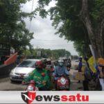 PMII Sumenep Gelar Aksi penggalangan Dana Korban Banjir Dan Gempa