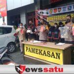 Polres Pamekasan Tangkap Komplotan Pencuri Kotak Amal