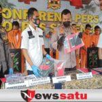 Polres Sumenep Amankan 164 Tersangka Narkoba