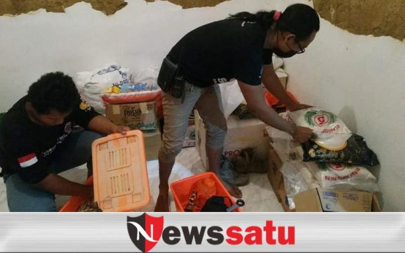 Relawan FRPB Pamekasan, Dikerahkan di Lokasi Longsor Nganjuk