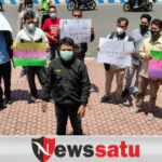 Kuli Tinta Di Bondowoso Gelar Demo Kekerasan Oknum Pengawal Menteri KKP Pada Wartawan